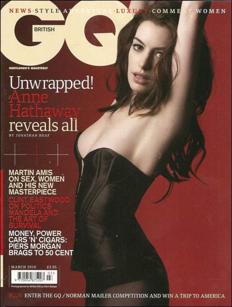 Anne Hathaway British GQ