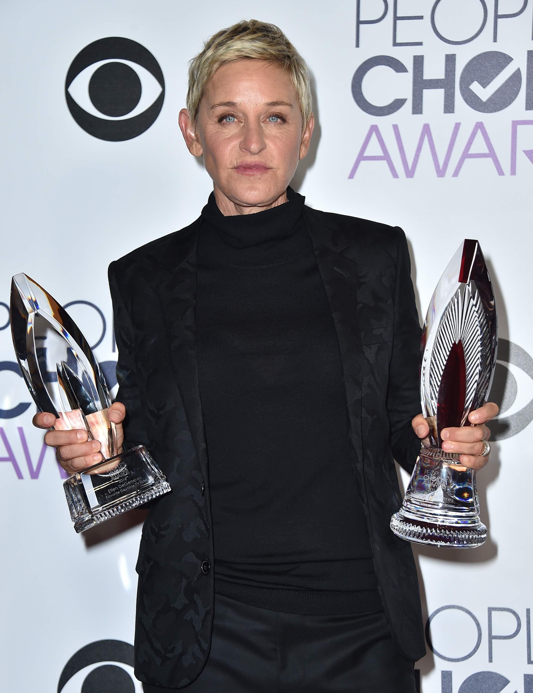 Ellen DeGeneres PCAs 2016