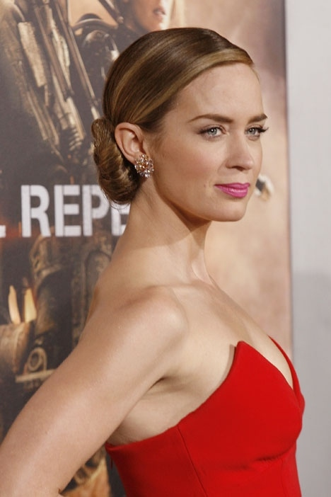 Emily Blunt Edge of Tomorrow Premieres