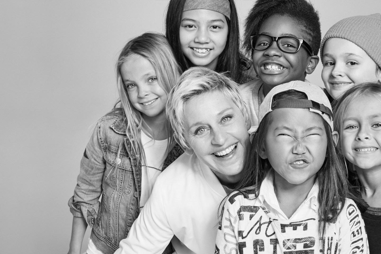 Ellen DeGeneres X Gap Kids