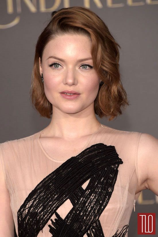 Holliday Grainger Cinderella Premiere
