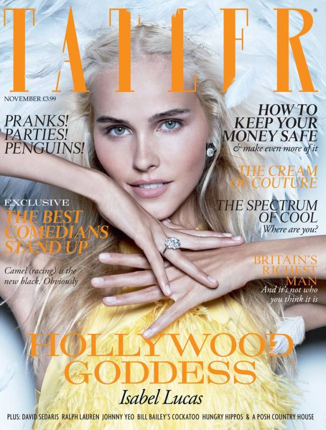 Isabel Lucas Tatler UK Magazine