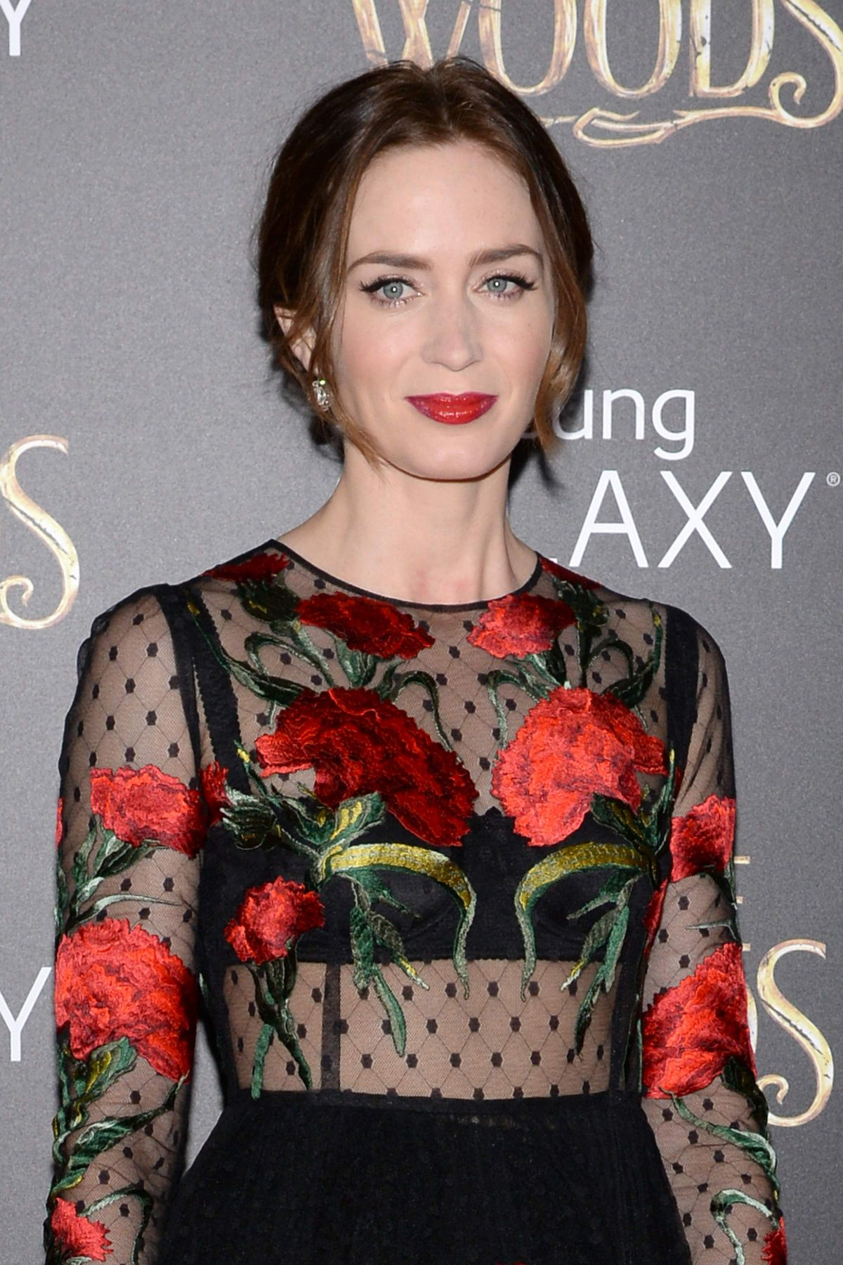 Emily Blunt Into the Woods Premiere