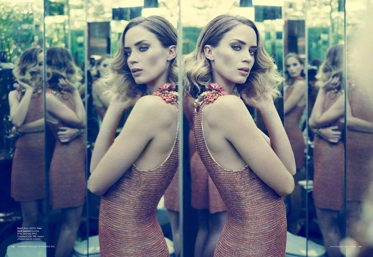 Emily Blunt Harper's Bazaar Australia