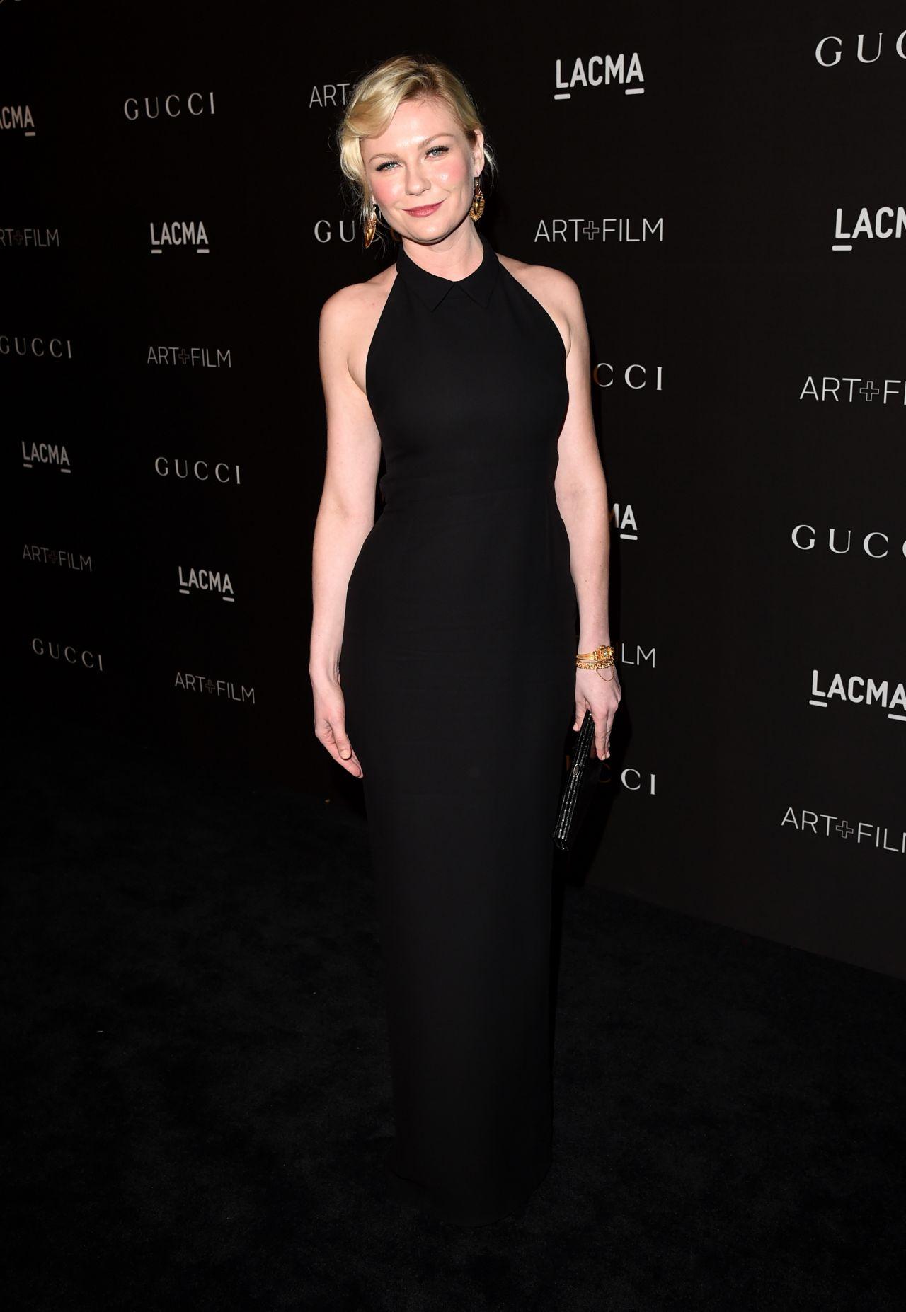 Kirsten Dunst LACMA Gala
