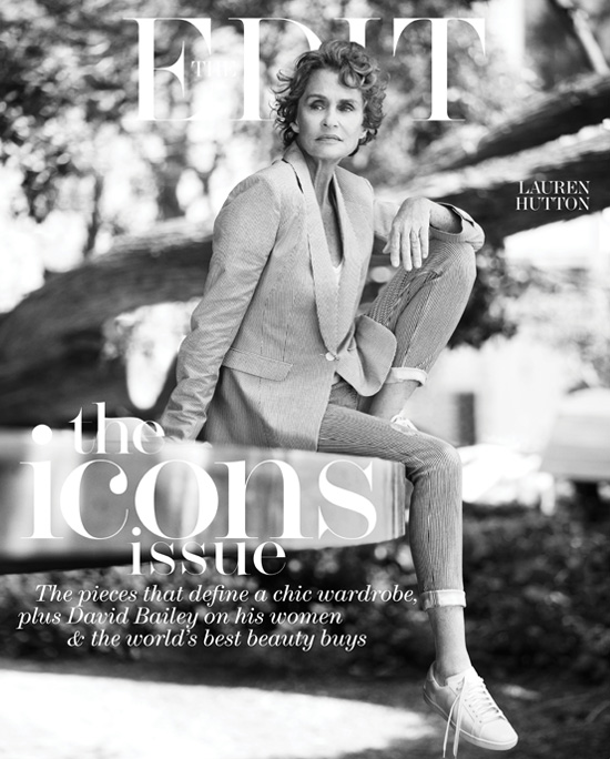 Lauren Hutton The Edit