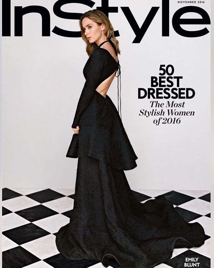 Emily Blunt – InStyle