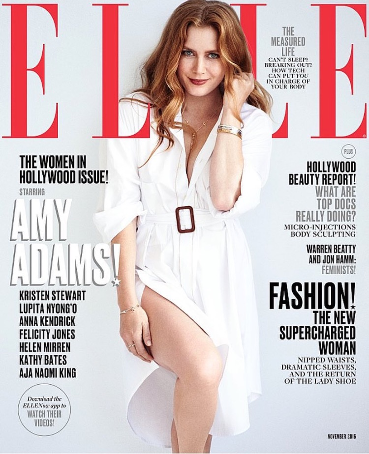 Amy Adams – Elle Magazine