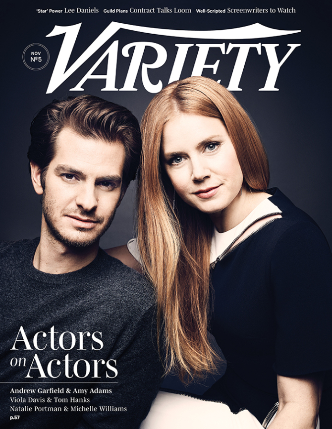 Variety – Amy Adams & Andrew Garfield