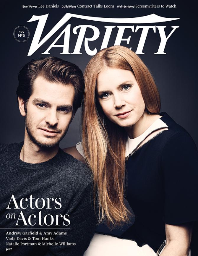 Amy Adams and Andrew Garfield x Variety Magazine