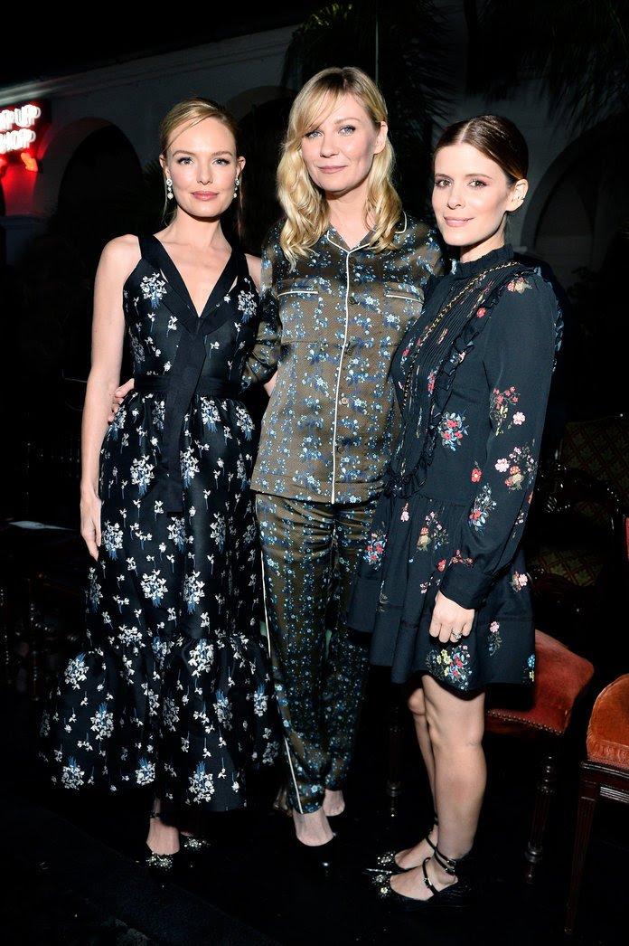 Kirsten Dunst h+m fashion show 2017