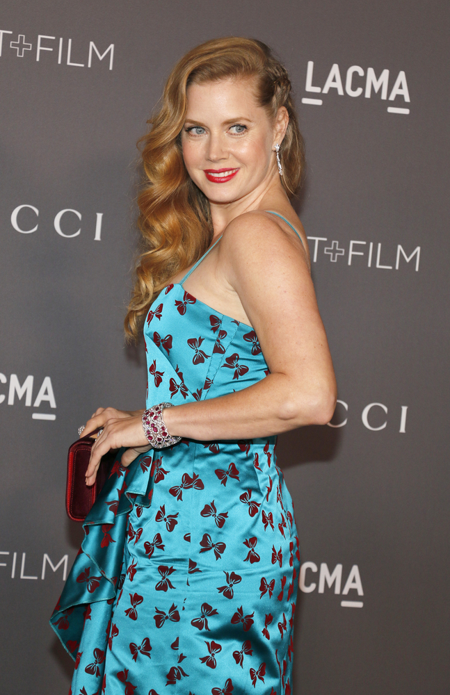 Amy Adams LACMA I Gucci art + film awards 2017