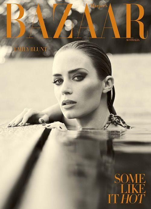 Emily Blunt: Harper's Bazaar Australia