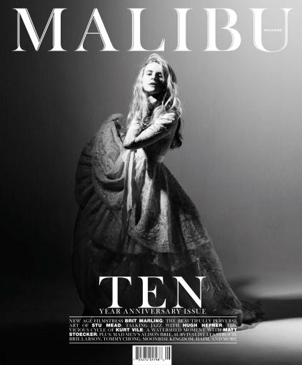 Brit Marling: Malibu Magazine