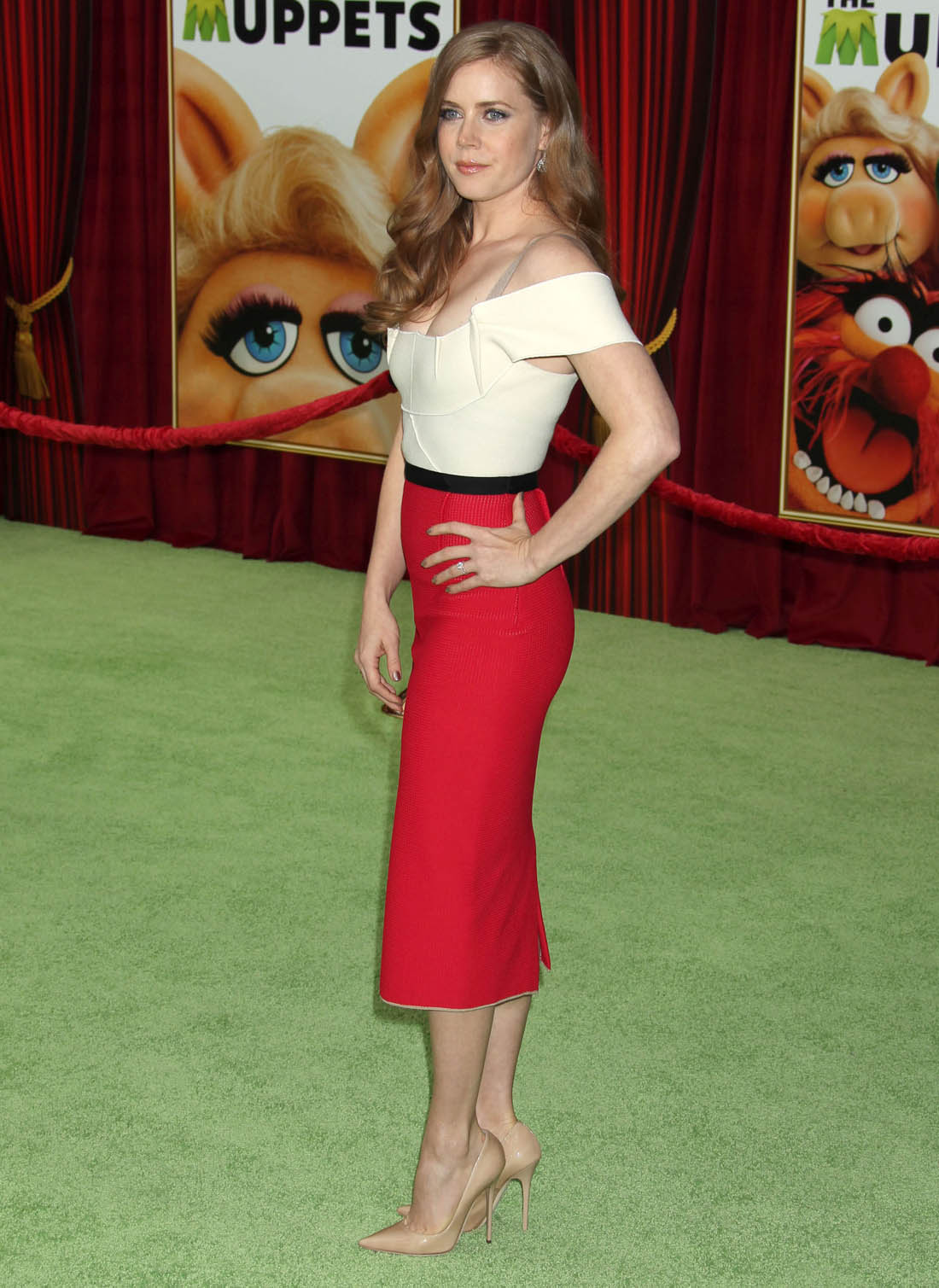 Amy Adams: The Muppets Premier