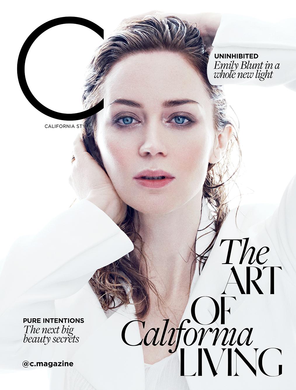 Emily Blunt: C Magazine