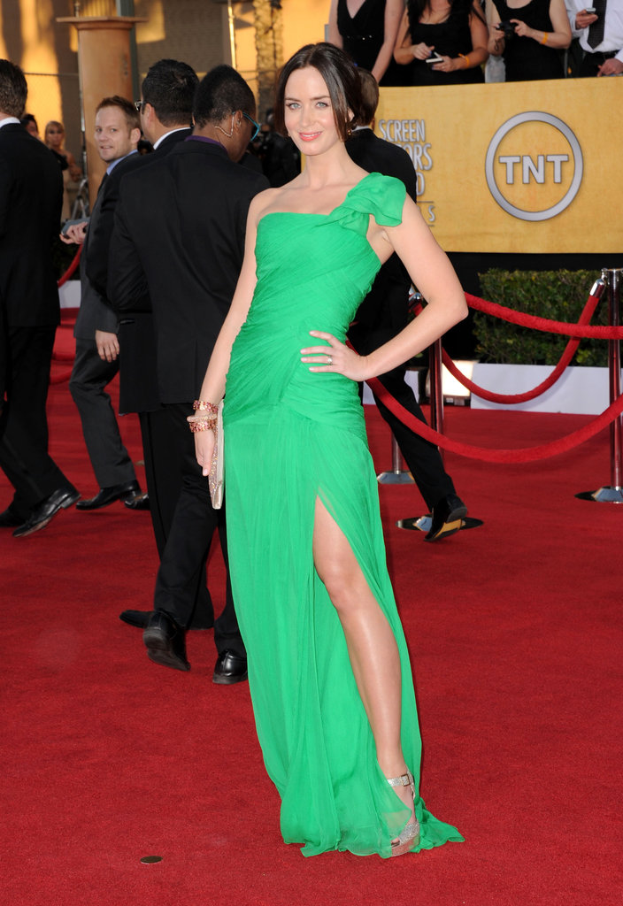 Emily Blunt: SAG Awards in Oscar de la Renta