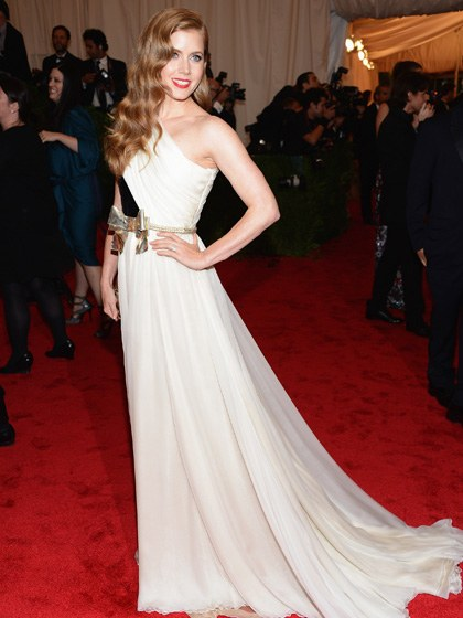 Amy Adams 2012 Metropolitan Museum of Art Costume Institute Gala