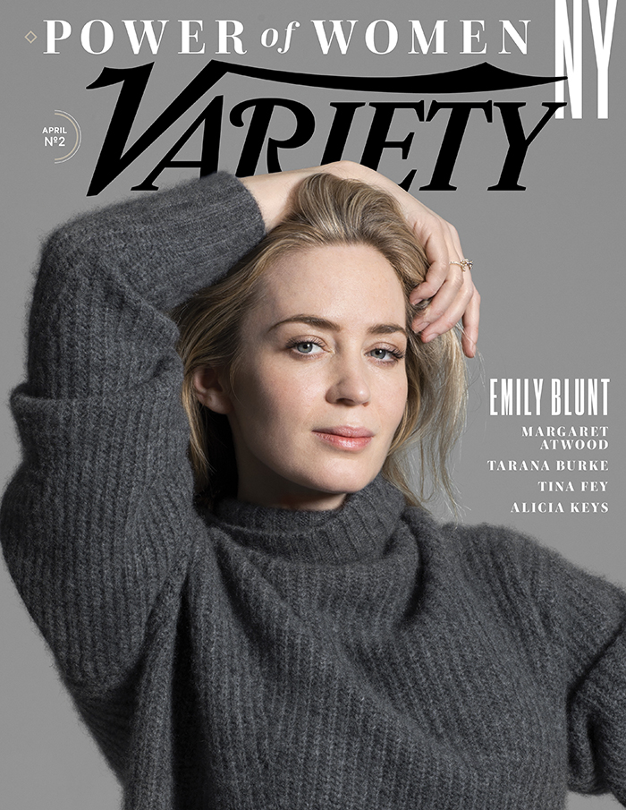 Emily Blunt: Variety April 2018