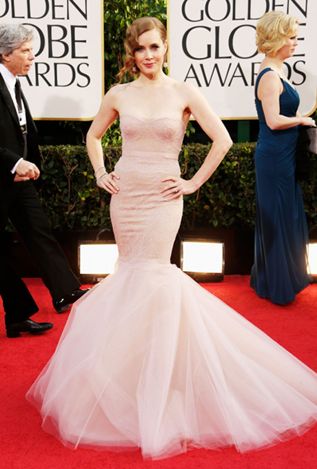 Golden Globes 2013 Best Dresses Amy Adams
