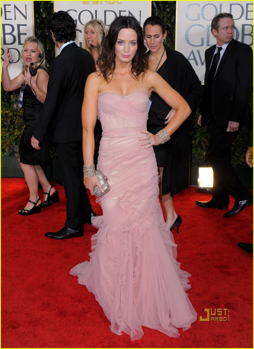 Emily Blunt: 67th Annual Golden Globe Awards – Arrivals