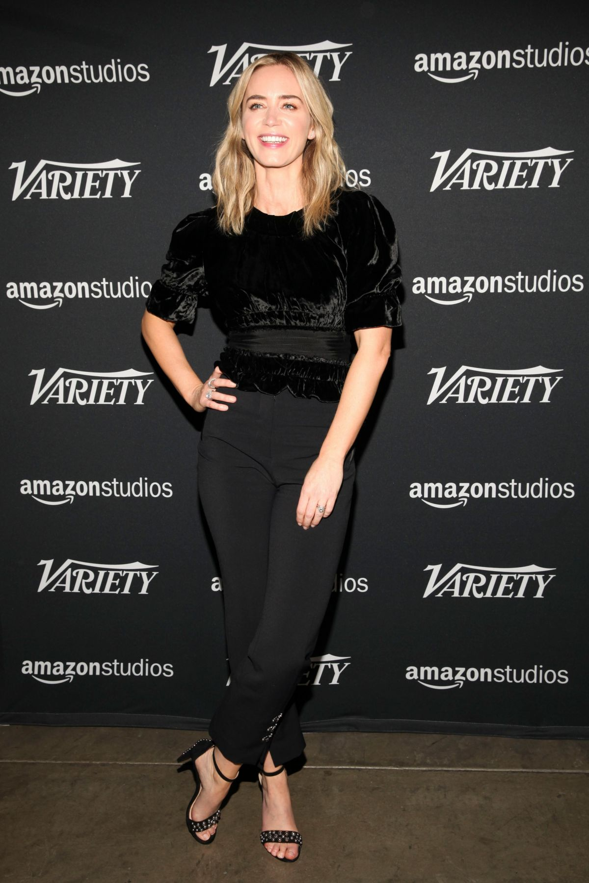 Emily Blunt – Variety Studio x Actors on Actors 2018