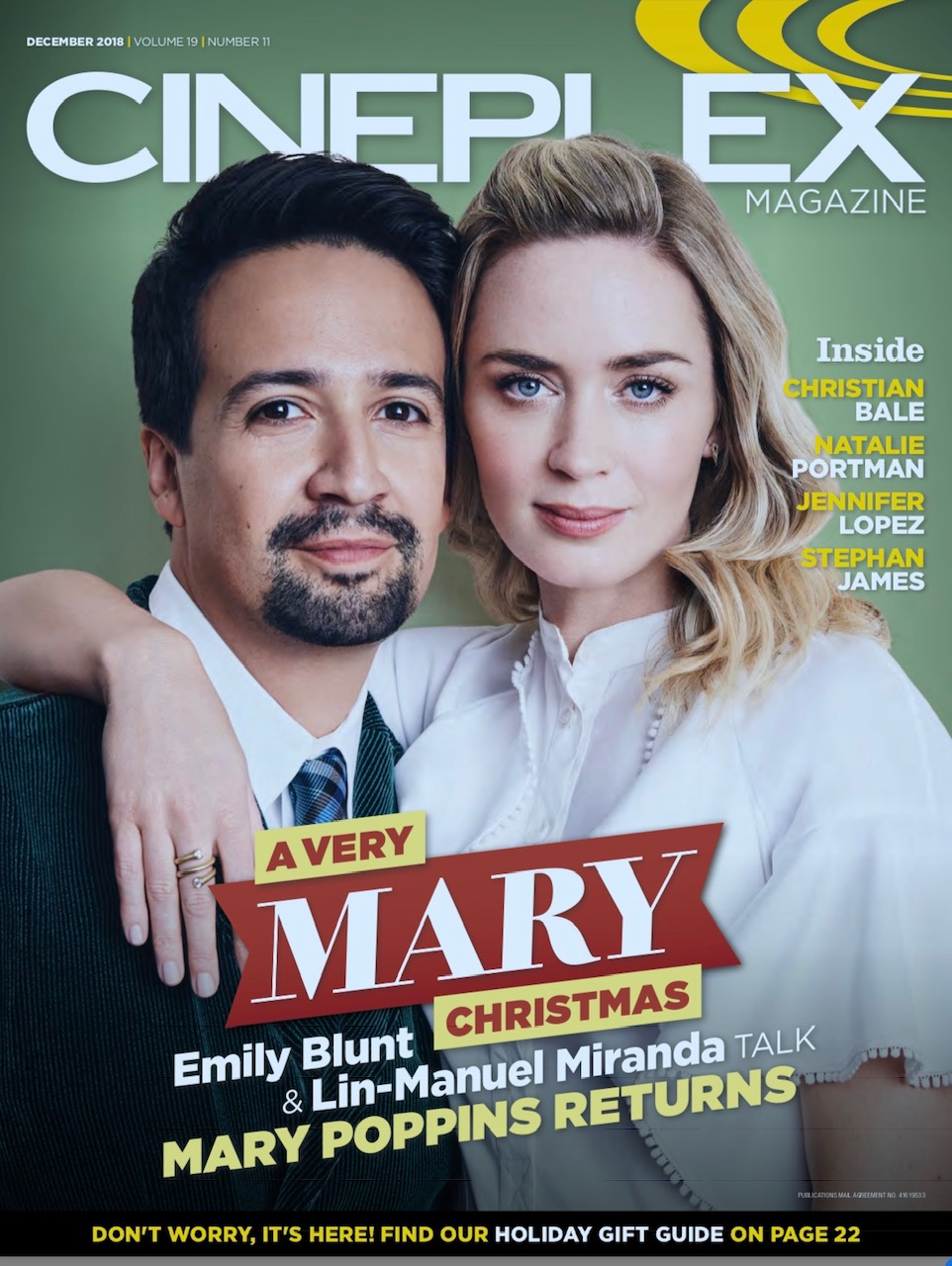 Emily Blunt for Cineplex Magazine