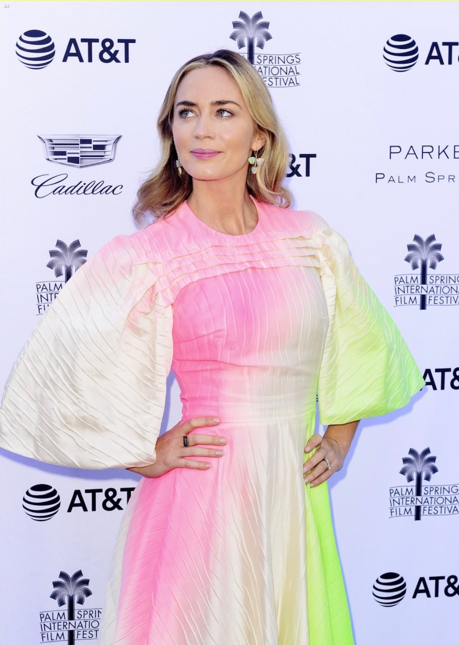 Emily Blunt at Variety's Luncheon – Palm Springs International Film Festival