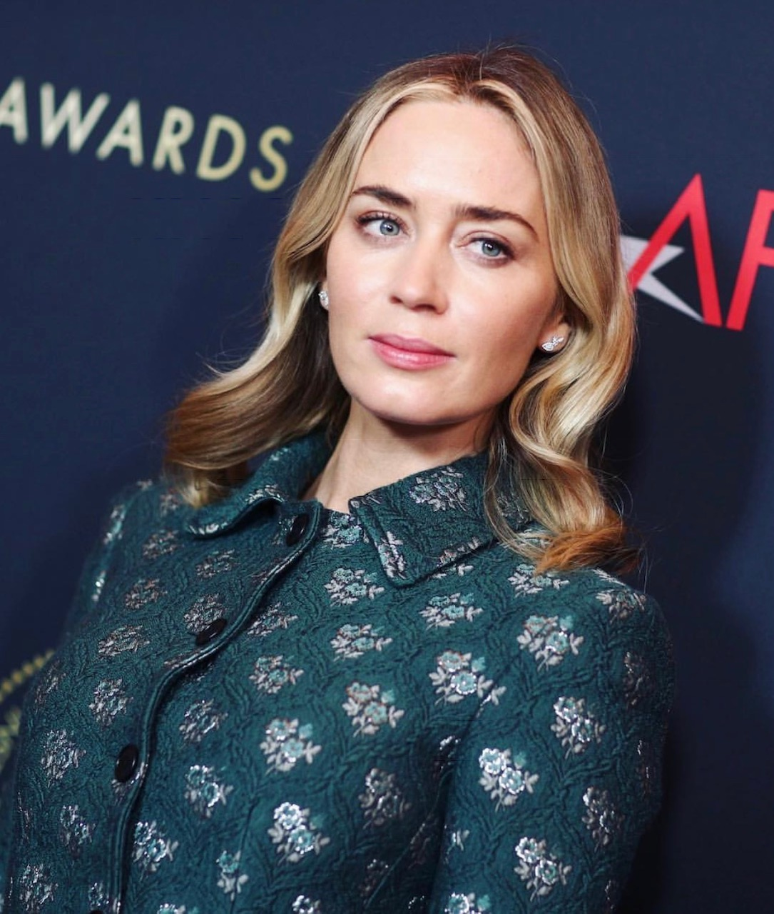 Emily Blunt at the AFI Awards Luncheon