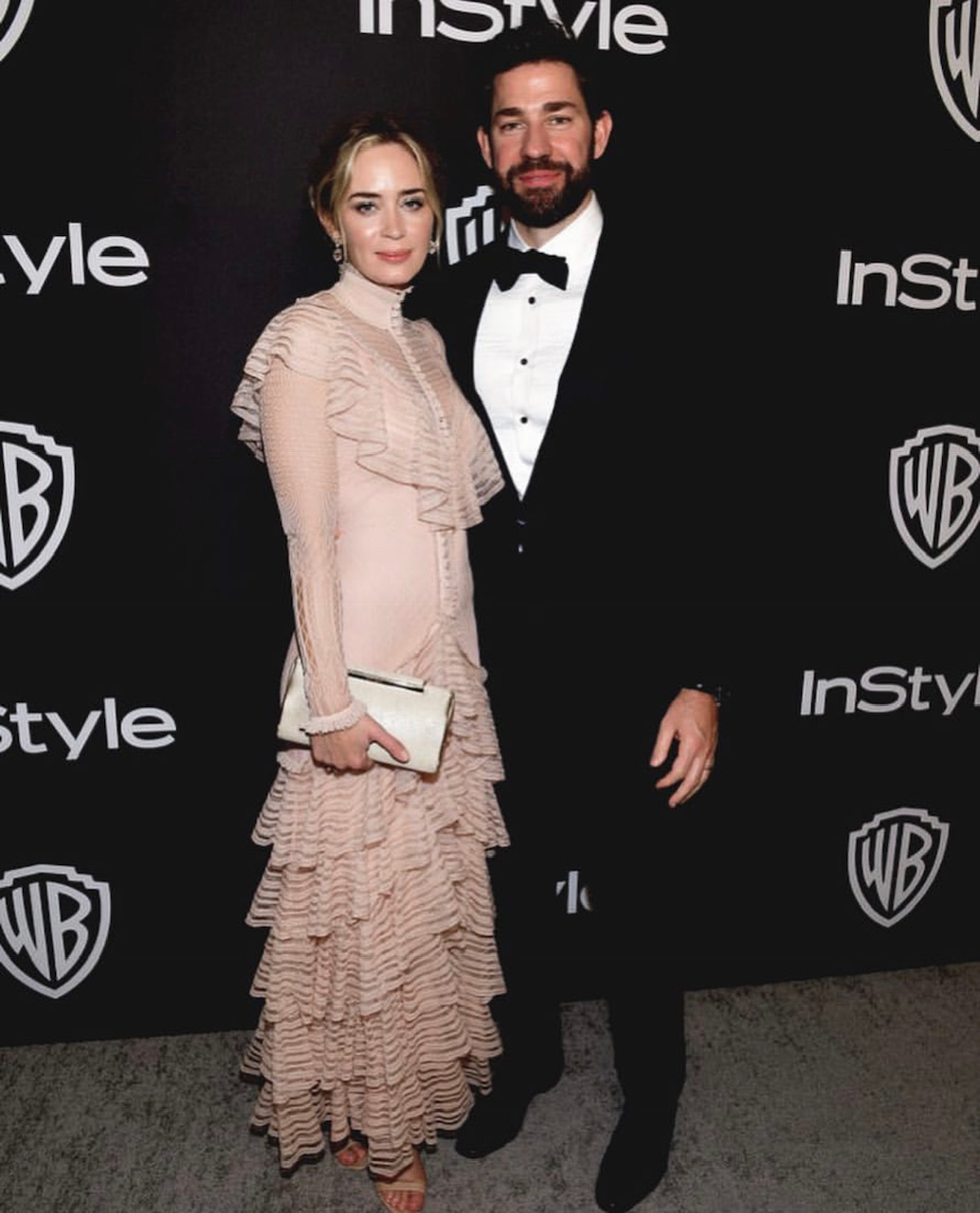 Emily Blunt at the In Style Golden Globes Party