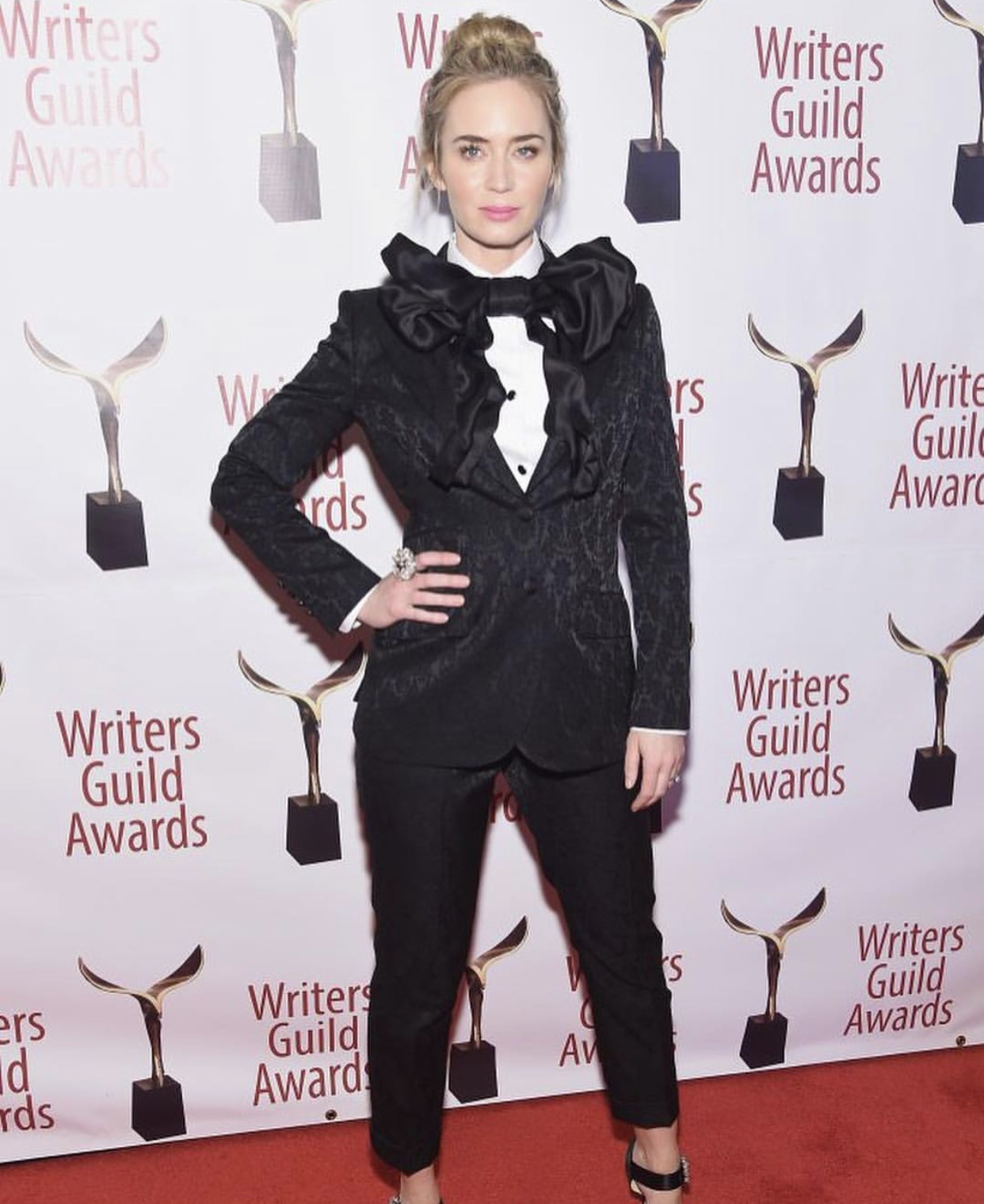 Emily Blunt x Writers Guild Awards – 2018