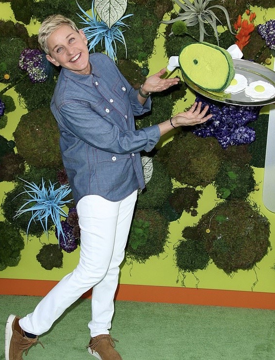 Ellen Degeneres x Green Eggs and Ham Premiere
