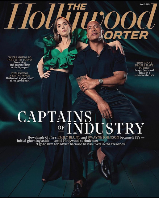 Emily Blunt x The Hollywood Reporter, July 2021