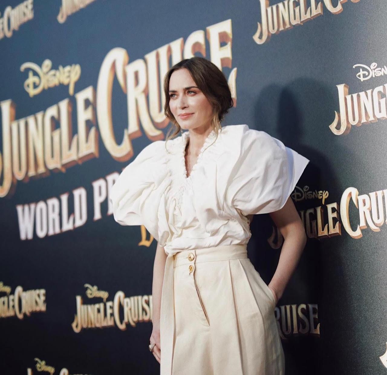 Emily Blunt x Jungle Cruise World Premier